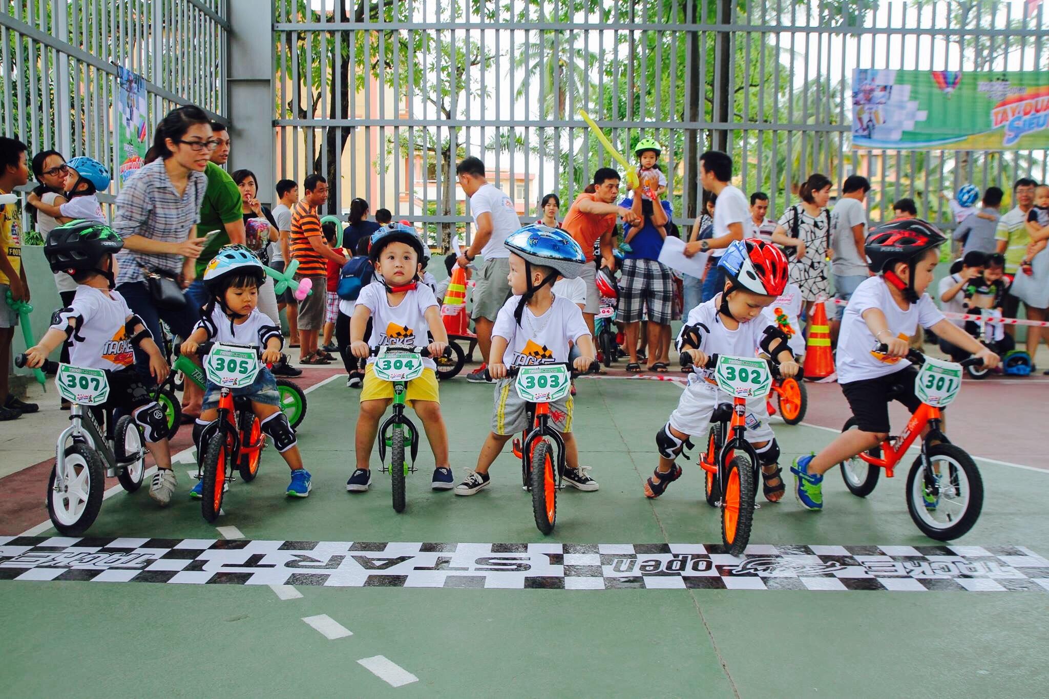 Tackebike Racing - Tay Đua Nhí Siêu Hạng - Đà Nẵng 27/8/2017
